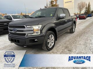 Used 2018 Ford F-150 Platinum Leather Seats - Navigation for sale in Calgary, AB