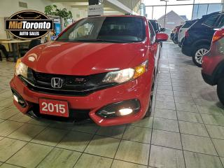 Used 2015 Honda Civic Si | One Owner | No Accidents | Navi | Sunroof | Loaded | Clean for sale in North York, ON
