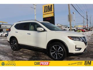 Used 2018 Nissan Rogue SL PLATINE AWD NAV  CUIR  TOIT  CAMERA  ANTI-COLL for sale in Salaberry-de-Valleyfield, QC