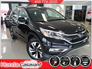 Used 2016 Honda CR-V TOURING AWD - TRÈS BEAU MODÈLE for sale in St-Hyacinthe, QC