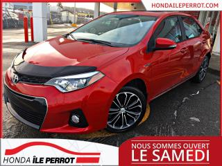 Used 2016 Toyota Corolla S -TECH JAMAIS ACCIDENTÉE , IMPECCABLE for sale in Île-Perrot, QC