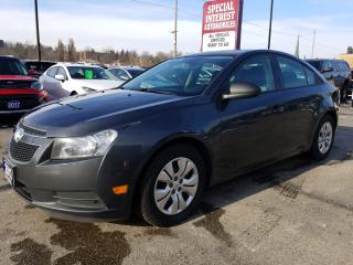 Used 2013 Chevrolet Cruze LS BLUE TOOTH !!  ACCIDENT FREE !!  REMOTE ENTRY for sale in Cambridge, ON