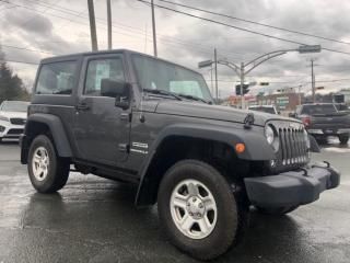 Used 2016 Jeep Wrangler SPORT 2 TOITS AUTOMATIQUE for sale in Ste-Marie, QC