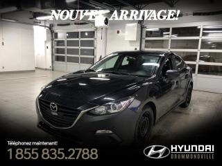 Used 2016 Mazda MAZDA3 GX + GARANTIE + NAVI + CAMERA + A/C + CR for sale in Drummondville, QC