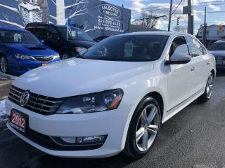 Used 2012 Volkswagen Passat 2.5L Auto Highline for sale in Toronto, ON
