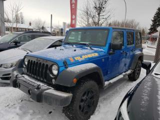 Used 2016 Jeep Wrangler Willys Wheeler Super Propre et Unique 4X4 for sale in Repentigny, QC