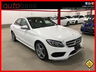Used 2017 Mercedes-Benz C-Class C300 4MATIC PREMIUM PLUS SPORT ACTIVE LED 360 EASY-PACK for sale in Vaughan, ON
