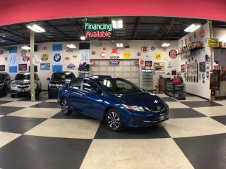 Used 2015 Honda Civic Sedan EX AUTO A/C SUNROOF BACKUP CAMERA BLUETOOTH 89K for sale in North York, ON