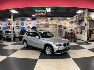 Used 2015 BMW X1 XDRIVE AUT0 AWD LEATHER PANO/ROOF P/SEAT 87K for sale in North York, ON