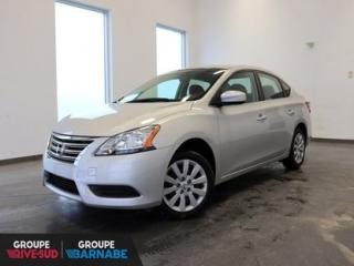 Used 2014 Nissan Sentra S AUTOMATIQUE ** AIR CLIMATISÉ ** GROUPE ÉLECT UN PROPRIO JAMAIS ACCIDENTÉ for sale in Brossard, QC