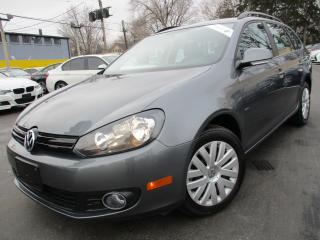 Used 2014 Volkswagen Golf Wagon TDI WAGON ~ DIESEL ~ ONE OWNER ~ 7,000KMS ONLY for sale in Burlington, ON