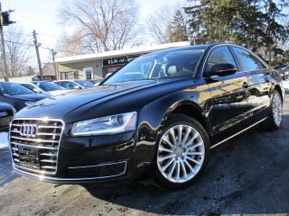 Used 2016 Audi A8 3.0T QTRO|ONE OWNER|NAVIGATION|86KMS|BLIND SPOT for sale in Burlington, ON