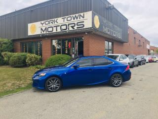 Used 2016 Lexus IS 300 F-Sport3/AWD/Nav/RCam/SunRoof/Leather/HeatedSeats for sale in North York, ON