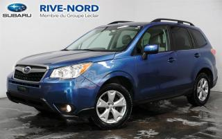 Used 2016 Subaru Forester Convenience AWD CAM.DE.RECUL+A/C+MAGS for sale in Boisbriand, QC