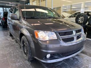 Used 2016 Dodge Grand Caravan SXT PREMIUM PLUS WGN, POWER SEATS, SIRIUS XM CAPABILITY, ECON MODE for sale in Edmonton, AB