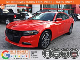 Used 2019 Dodge Charger SXT plus AWD - No Accident / Local / Sunroof / Nav / Leather for sale in Richmond, BC