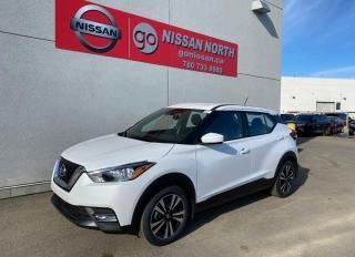 New 2020 Nissan Kicks DEMO / SV/PUSH START/BLIND SPOT/BACK UP CAM/BLUETOOTH for sale in Edmonton, AB