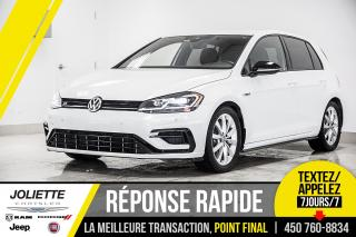 Used 2018 Volkswagen Golf R 2.0 TSI, AWD, CUIR, NAVIGATION!! for sale in Joliette, QC
