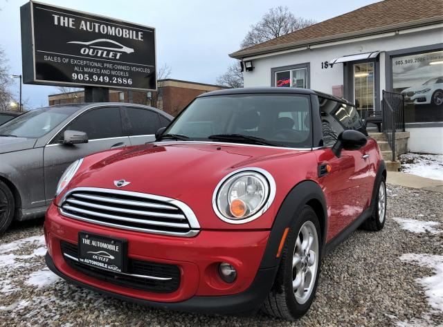 2012 MINI Cooper CERTIFIED PANO ROOF LEATHER