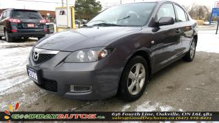 Used 2009 Mazda MAZDA3 GS|LOW KM|NO ACCIDENT|ALLOYS|CERTIFIED for sale in Oakville, ON
