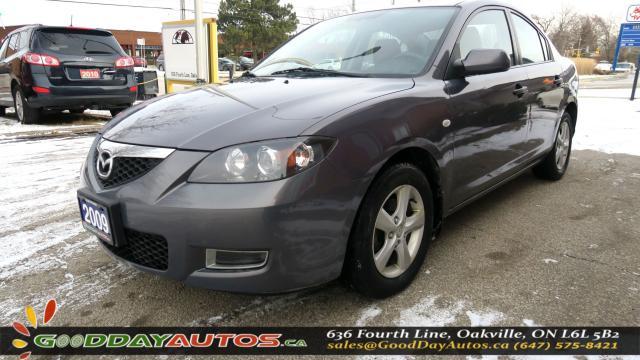 2009 Mazda MAZDA3 GS|LOW KM|NO ACCIDENT|ALLOYS|CERTIFIED