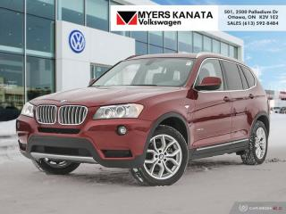 Used 2013 BMW X3 xDrive28i  - Premium Package for sale in Kanata, ON