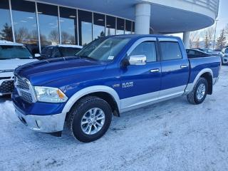 Used 2014 RAM 1500 LARAMIE 4X4, CREW CAB, NAV, BACK UP CAM, HEATED SEATS AND MORE for sale in Edmonton, AB