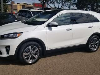 New 2020 Kia Sorento EX V6 AT; AWD, 7PASS, TOWING, LEATHER, BLUETOOTH, BACKUP CAM, ALLOY RIMS AND MORE for sale in Edmonton, AB