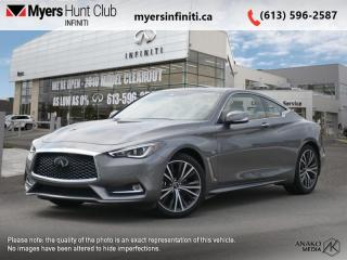 Used 2020 Infiniti Q60 LUXE AWD  - Sunroof -  Navigation for sale in Ottawa, ON