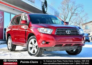 Used 2009 Toyota Highlander SPORT 4WD CUIR, MAGS, TOIT, 4WD for sale in Pointe-Claire, QC