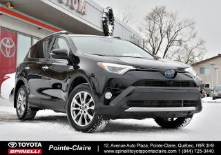 Used 2016 Toyota RAV4 LIMITED CAMÉRA 360 DEGRÉE, GPS, MONITEUR D'ANGLE MORT for sale in Pointe-Claire, QC