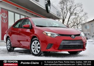 Used 2015 Toyota Corolla LE BAS KM! for sale in Pointe-Claire, QC