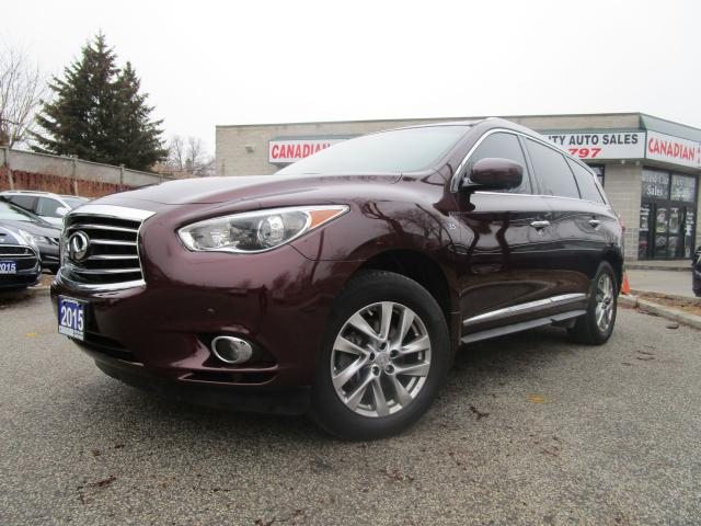 2015 Infiniti QX60 AWD-NAVI-LTHER-ROOF-360 CAM-HTD-BLTOOTH-ALLOY