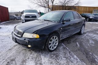 Used 1999 Audi A4 RARE 2.8 - AS - IS, RUNS AND DRIVES AMAZING for sale in Etobicoke, ON