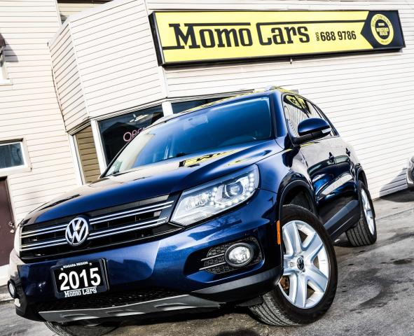 2015 Volkswagen Tiguan COMFORTLINE | LOADED | AWD | CLEAROUT