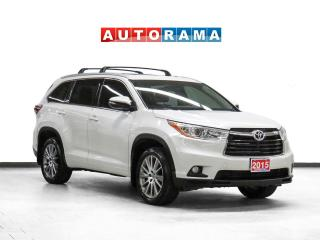 Used 2015 Toyota Highlander XLE 4WD Navigation Leather PanoRoof Bcam 8Pass for sale in Toronto, ON