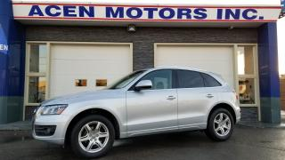 Used 2012 Audi Q5 2.0LT, ONE OWNER, ONLY 59,000, NO ACCIDENTS for sale in Hamilton, ON