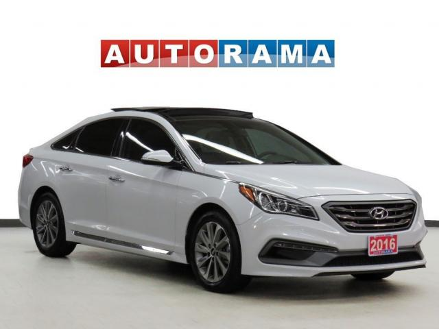 2016 Hyundai Sonata Sport Tech Pkg Navigation Leather PanoRoof Bcam