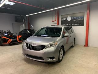 Used 2011 Toyota Sienna CE 7 PASSAGERS,AUTO,AIR CLIMATISÉ,TOUTE for sale in Montréal, QC