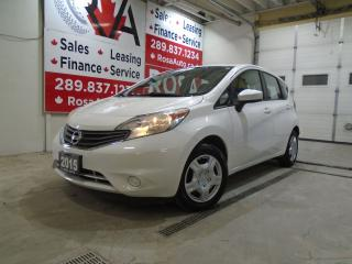 Used 2015 Nissan Versa Note SV AUTO HATCH NO ACCIDENT SAFETY for sale in Oakville, ON