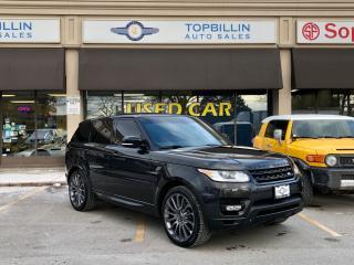 Used 2014 Land Rover Range Rover Sport V8 SC Dynamic, Navi, Auto Pilot Park for sale in Vaughan, ON