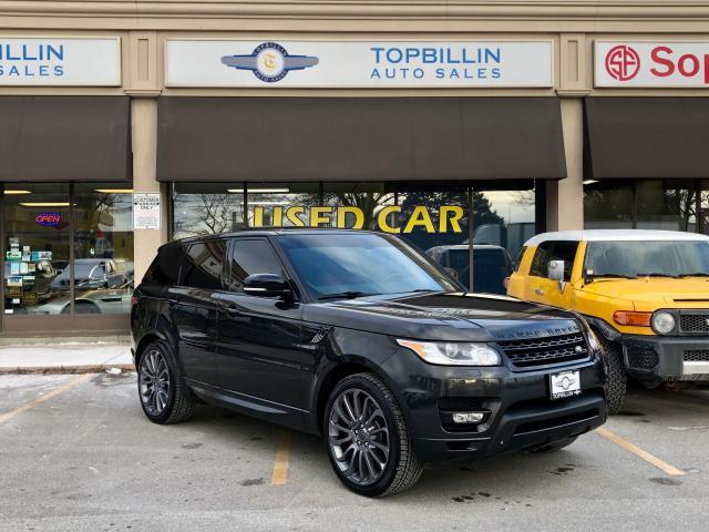 2014 Land Rover Range Rover Sport V8 SC Dynamic, Navi, Auto Pilot Park