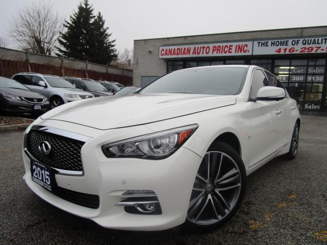 2015 Infiniti Q50 LIMITED-AWD-NAVI-LTHER-CAM-ROOF-BOSS-BTOOTH-ALLOY
