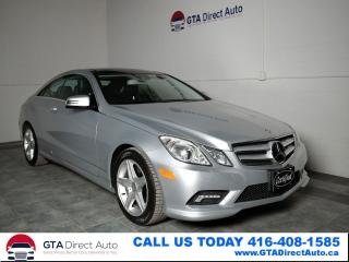 Used 2011 Mercedes-Benz E-Class E550 Nav Panoroof Cam Harman Xenon V8 Certified for sale in Toronto, ON