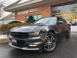 Used 2019 Dodge Charger SXT AWD Sunroof Rear Cam Remote Starter Navi Certi for sale in Concord, ON