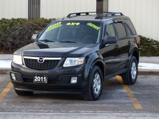 Used 2011 Mazda Tribute LEATHER-HEATD,GT,REAR-CAM,4WD,FULLY LOADED,1-OWNER for sale in Mississauga, ON