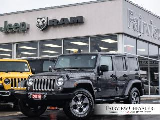 Used 2018 Jeep Wrangler JK Unlimited Sahara l SOLD BY NICK THANK YOU!!! l for sale in Burlington, ON