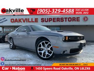 Used 2016 Dodge Challenger SXT   LEATHER   B/U CAM   SUNROOF   HTD SEATS for sale in Oakville, ON