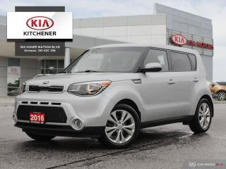 Used 2016 Kia Soul EX, ONE OWNER, CARFAX CLEAN for sale in Kitchener, ON