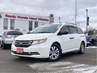 Used 2014 Honda Odyssey SE - Rear Camera - Bluetooth - NEW TIRES for sale in Mississauga, ON
